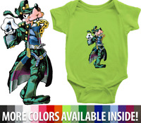 Infant Baby Rib Bodysuit Clothes Gift Goofy Jotaro Kujo Disney Jojo's Bizarre