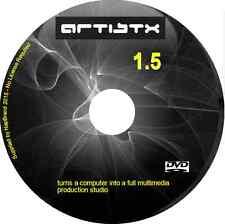 Artistx 1,5 transforme un ordinateur dans un studio de production multimédia complet Linux DVD