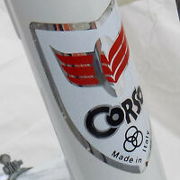 Corso Road Bike Classic Road Racing Italian Vintage White Large 58cm (As Is)