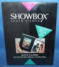 "ShowBox Photo Viewer 4x6"" Holds 40 Pictures CHARCOAL"