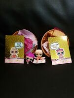 LOL LIL ROLLER SK8ER AND LIL MC SWAG + LOL GOLD CARD FOR EACH DOLL SERIES 1