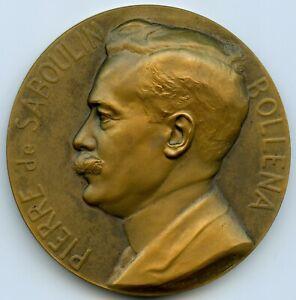 Messageries Maritimes Pierre de Saboulin Bollena Médaille par Maillard