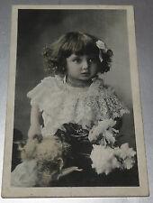 6380: Echtbild, Kind, französisch, um 1915  - Karte, Postkarte, Carte Postale.