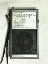 Sears Pocket Radio SR 2000 Series with AM FM TV1 TV2  Made In Hong Kong