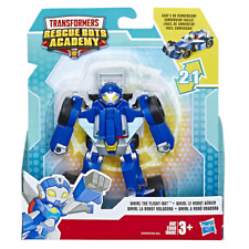 New TRANSFORMERS Rescue Bots Academy WHIRL the Flight-Bot Race Car playskool