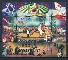 Jugoslawien Block 53 postfrisch Zirkus 2002 MNH Michel 45,00 €