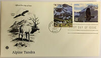 50 USPS PCS Alpine Tundra 2007 41c Stamp FDC Cover 4198A First Day Issue NEW