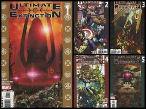 "°ULTIMATE EXTINCTION #1 bis 5 von 5 ""GAH LAK TUS"" SAGA FINALE° US Marvel 2006"