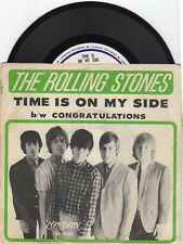 The Rolling Stones-Time Is On MY Side  (PS)  Near Mint
