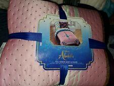 Disney Aladdin Full / Queen Quilt and Sham Set NEW