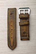 CORREA/STRAP Green Leather for Panerai 135x85 26mm with Buckle