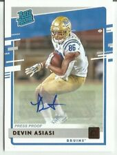 2020 CHRONICLES DEVIN ASIASI RATED ROOKIE AUTO RED SP UCLA PATRIOTS DONRUSS