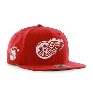 NHL Detroit Red Wings Basecap Baseballcap Captain SureShot Cap 887738717222