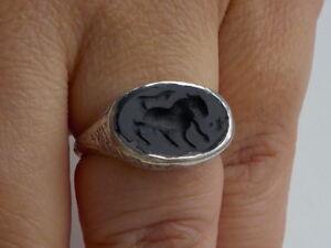 Nice Intaglio Seal Ring Metal Detecting Find