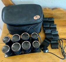 """T3 VOLUMIZING HOT ROLLERS LUXE1 3/4"""" & 1 1/2"""" HOT ROLLER SET"""