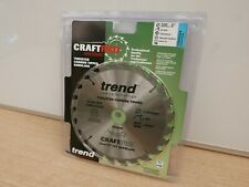 TREND 200MM 24T X 16/20 OR 30MM BORE TABLE MITRE SAW BLADE CSB/20024