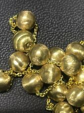 Marco Bicego Africa Bead  750 Yellow Gold Necklace
