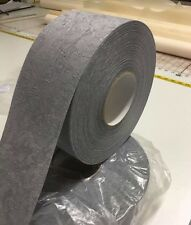 3.5 inch vertical blind fabric - full roll 100 metre - Grey California Steel