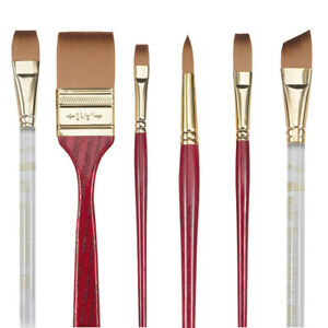 Princeton Heritage Series 4050 Synthetic Sable Paint Brushes