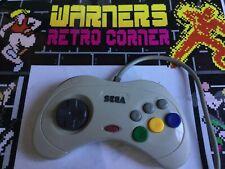 Sega Saturn White Japan Jan Joy Pad Tested Working Peripheral