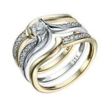 H. Samuel Round White Gold Fine Diamond Rings
