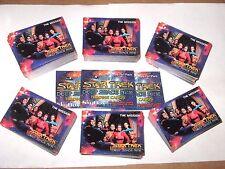 1993 STAR TREK DEEP SPACE NINE 6 Card Set LOT complete trading card SETS! ALL 6!