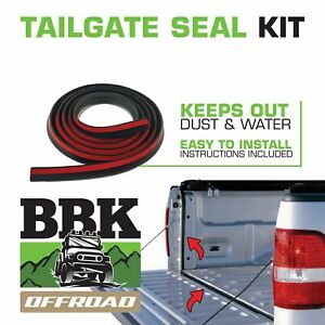 TAILGATE SEAL KIT FITS TOYOTA HILUX SR SR5 UTE RUBBER DUST TAIL GATE