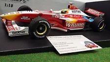 WILLIAMS PROMOTIONAL SHOWCAR formule 1 SCHUMACHER 1999 1/18 MINICHAMPS 180990096