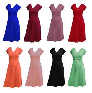 Schwangerschaftskleid Shirtkleid Stillkleid Kleid 8 Farben S/M-36/38  L/XL-40/42