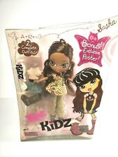 Bratz Kidz Sasha Doll with 2 Complete Outfits & Poster New in Box