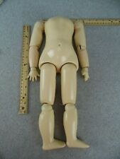 """New Listing16"""" antique reproduction composition German jointed Doll Body for Doll Making"""