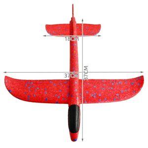 Wurfgleiter Gleitflieger XL Styropor Flugzeug Gleiter 38cm Spielzeug 2 Flugmodi