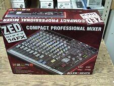 Allen & Heath Zed60-14FX Multi-Purpose Mixer With  FX For Live Sound + Recording