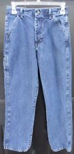 Boys Wrangler Blue Jeans Size 16 Regular Jeans 27x28  100% Cotton