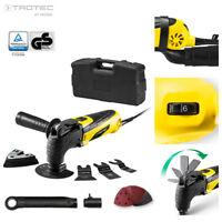 TROTEC PMTS 10-230V Outil multifonctions avec nombreux accessoires et coffre