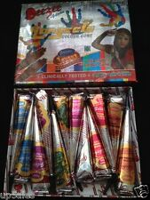12 Xscented Mix Colours Henna Paste Cone TattooKit BodyArt Temptats Natura Pp11#