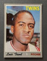 1970 Topps #231 Luis Tiant Minnesota Twins EX