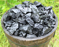 Lot of 10 Pieces Natural Rough Shungite (Raw Healing Purification Stone Russia)