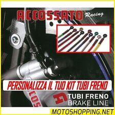 Tubi freno kit tubo in treccia Yamaha R1 R6 YZF 600 1000 750 Thundercat FZR