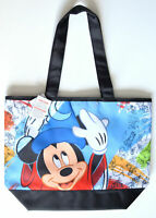 Disney Parks Mickey Mouse Character Sketch Ink and Paint Large Tote Bag NEW
