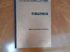 Porsche 928 - Svc Info Manual/ Intro 4582.21 AND 928 Maint Repairs & Adj 4583.21