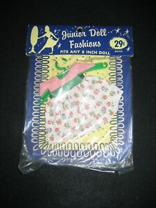 Junior Doll Fashion MIDWESTERN  MFG. CO.  8 Inch NRFP Ginny Ginger CB