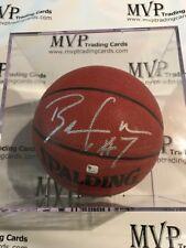 Ben Gordon Rookie Autograph Spalding I/O Basketball w/ Ultra Pro Ball Display