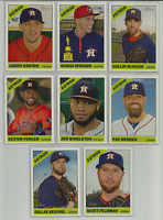 2015 Topps Heritage Houston Astros Team Set 8 Cards George Springer ++