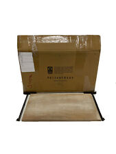 "Pottery Barn Menlo Wooden Shelf 20"" Brown OPEN BOX"