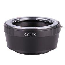 Contax Yashica CY C/Y Lens to Fujifilm Fuji FX X mount X-Pro1 X-E1 adapter