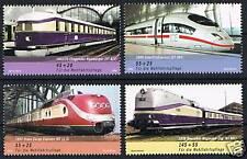 2560-2563 ** BRD 2006, Wohlfahrt Eisenbahnen
