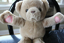 """RUSS & BERRIE*I Love You This Much*9"""" Sitting Plush Bear*Brown*ITEM 571*Vintage"""