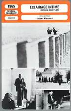 ECLAIRAGE INTIME - Bezusek,Blazek,Passer (Fiche Cinéma) 1965 - Intimate Lighting
