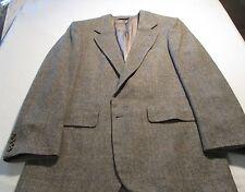 2 Button Gray 100% Camel Hair Men's Sport Coat
